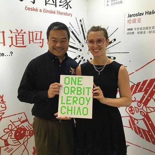 Kniha One Orbit byla slavnostně představena na českém stánku na Pekingském knižním veletrhu.