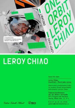 Křest knihy One orbit proběhne 18. října v Praze