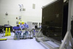 Solární panel sondy OSIRIS-REx