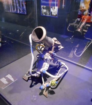 Vernierův motorek rakety Atlas