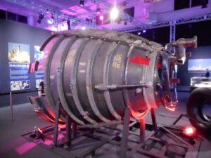 Tryska motoru RS-25 používaná na raketoplánech