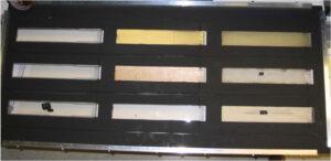 Vzorky materiálů