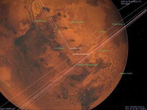 Přílet TGO a EDM pohledem z Mars Express