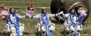 Návrat posádky z mise Šen-čou-9