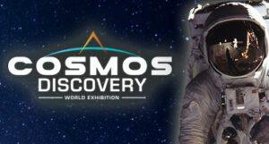 Logo výstavy Cosmos Discovery