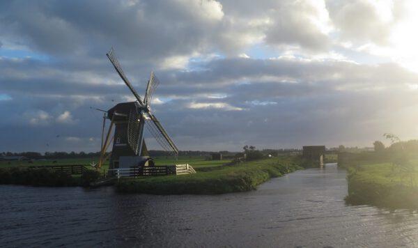 Větrný mlýn u Noordwijku