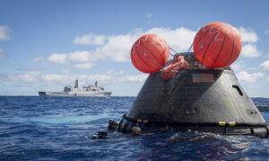 Loď Orion se úspěšně vrátila z mise EFT-1