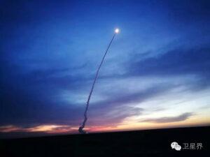Start rakety CZ-11