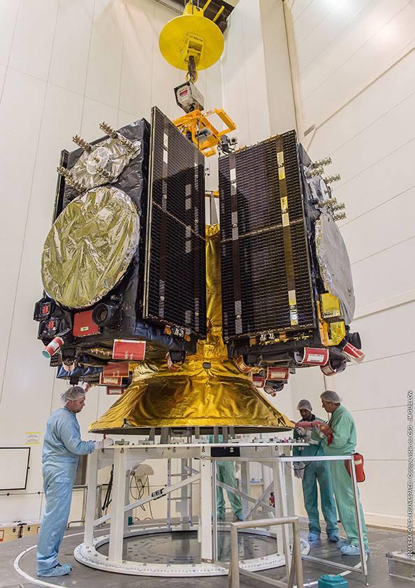 Ariane 5 by měla se čtveřicí družic Galileo startovat minimálně třikrát