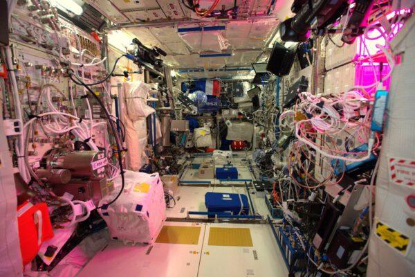 Vlajka trikolóry pluje modulem Columbus, mojí novou kanceláří, která krásně reprezentuje evropskou účast ve vesmíru. Columbus se k ISS připojil v roce 2008 a o připojení se postaral evropský astronaut Léopold Eyharts. Máme tu pět stanovišť pro vědecký výzkum, na kterých mohou probíhat biologické a lékařské, stejně jako materiálové experimenty.