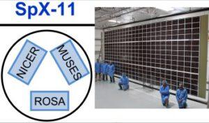 Náklad v trunku mise SpX-11