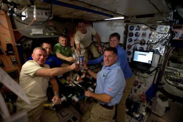 Den Díkůvzdání na ISS