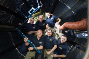 47. dlouhodobá expedice na ISS v útrobách modulu BEAM