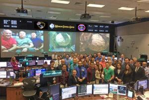 Odborníci z NASA a firmy Bigelow po úspěšném nafouknutí modulu BEAM