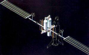 První studie Space Operations Center