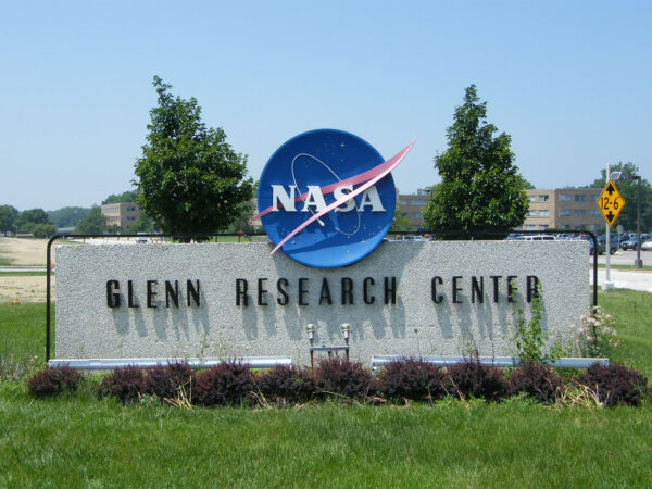 Glennovo výzkumné středisko NASA ve státě Ohio.
