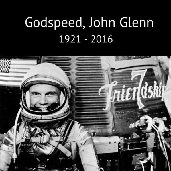 Ve věku 95 let zemřel John Glenn