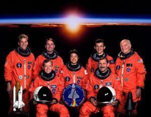 Posádka mise STS-95