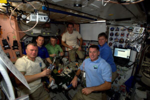 Šestičlenná posádka 50,. dlouhodobé expedice na ISS
