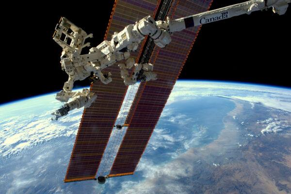 Canadarm – robotická paže z Kanady, nezbytná součástí ISS nám pózuje na této fotce. Je velmi pohyblivá – mohou ji ovládat jak astronauti na palubě, ale i specialisté ze Země. A k čemu slouží? Pomáhá při připojování kosmických lodí, může doplňovat palivo, pohybuje s vědeckými experimenty, nebo … s astronauty během výstupů do volného prostoru. Během pozemního tréninku jsem měl možnost cvičit na jejím simulátoru a i v těchto dnech pokračuju s originálním kusem, aby byl připravený na přílet japonské lodi HTV. Ta odstartuje v pátek z kosmodromu Tanegašima. Po příletu ke stanici použijeme robotickou paži, abychom loď doslova zachytili. Je to opravdu velmi sofistikované zařízení, jehož technologie se v pozemských podmínkách používá při operacích mozku.