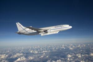 Letoun L-1011 Stargazer se zavěšenou raketou Pegasus-XL