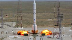 Start Protonu-M s družicí Intelsat 31