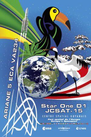 Plakát k aktuální misi