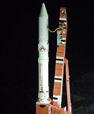 Vylepšená raketa Epsilon