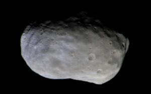 První snímek měsíce Phobos pořízený sondou TGO
