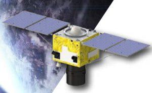 Vizualizace satelitu Gaojing