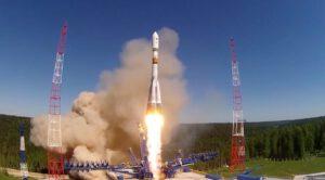 Raketa Sojuz 2.1b startovala 29. května z kosmodromu Pleseck s navigační družicí Glonass (označovanou též Kosmos 2516)