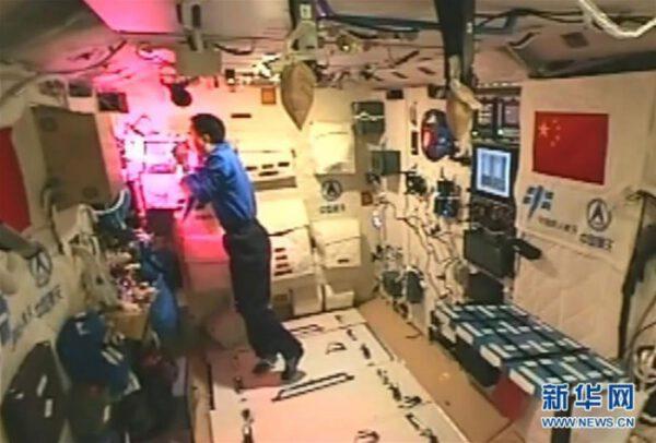 Obydlená laboratoř Tiangong 2
