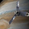 Juno dnes potřetí prolétá nejnižším bodem její oběžné dráhy kolem Jupiteru