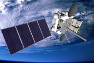 Vizualizace družice Elektro-L 3