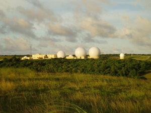 Stanice systému Space Network na ostrově Guam