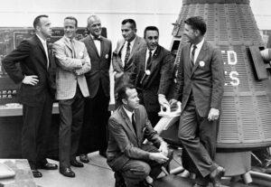 Sedmička astronautů Mercury v Langley