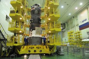 Progress MS-04 během pozemních příprav