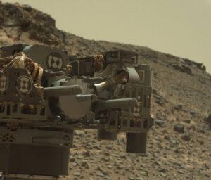 Vrták vozítka Curiosity