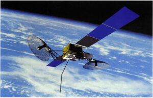 Vizualizace družice TDRS