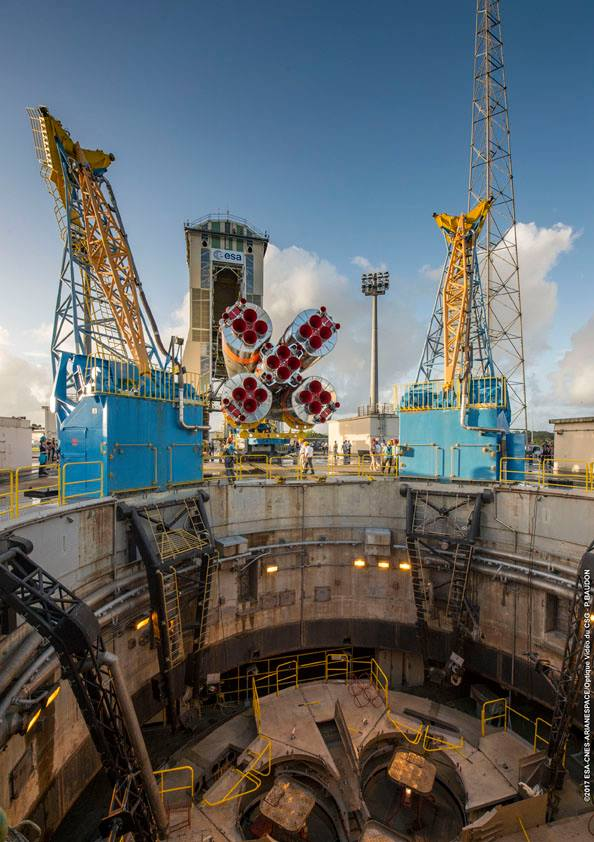 Vývoz rakety Sojuz
