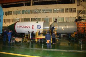 Příprava Progressu MS-04 na start