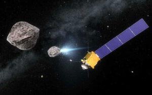 Evropská sonda měla vyhodnocovat důsledky nárazu sondy DART