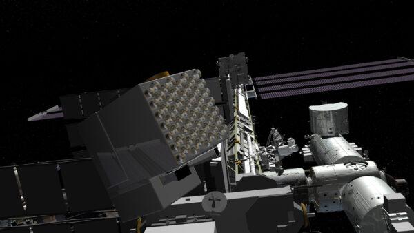 Přístroj NICER na ISS