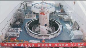První exemplář lodi Tiančou