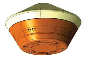 Návratové pouzdro sondy OSIRIS-REx