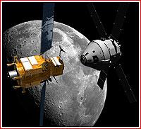 PPB a Orion u Měsíce