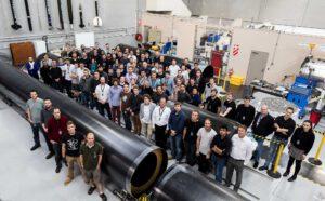 Zaměstnanci firmy Rocket lab