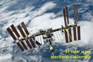 ISS s vyznačením sekce S4