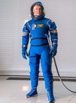 Skafandr Boeing Blue