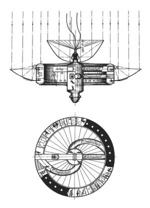 Koncept orbitální stanice Hermana Ptočnika alias Hermanna Noordunga